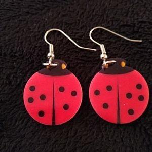 Other - New - Earrings - Ladybug